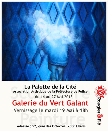 Exposition collective: Galerie du Vert Galant – Paris du 14 au 27 Mai 2015