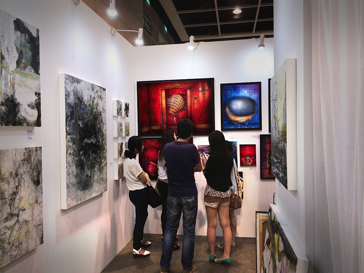 Exposition collective Foire Affordable Art Fair – Hong Kong – Chine du 22 au 24 Mai 2015