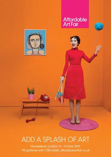 Exposition collective: Foire Affordable Art Fair – Londres – Angleterre du 11 au 14 Juin 2015