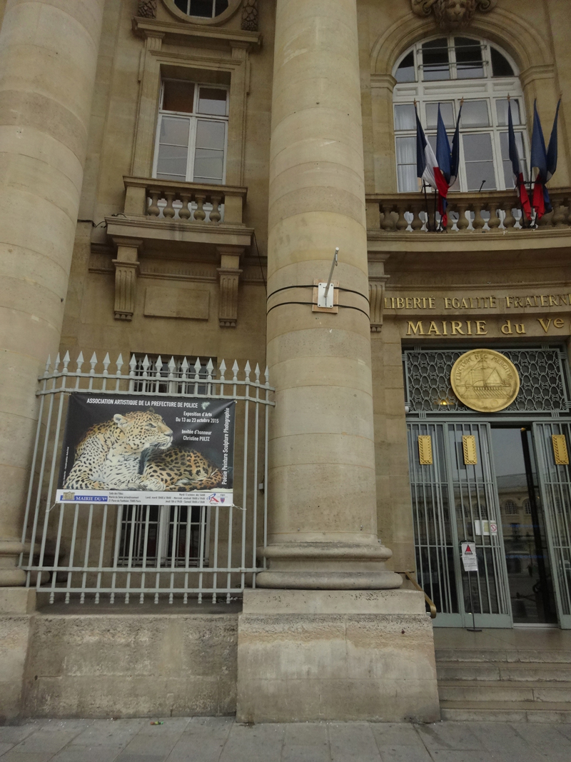 Exposition collective Mairie du 5ème – Paris du 13 au 23 Octobre 2015