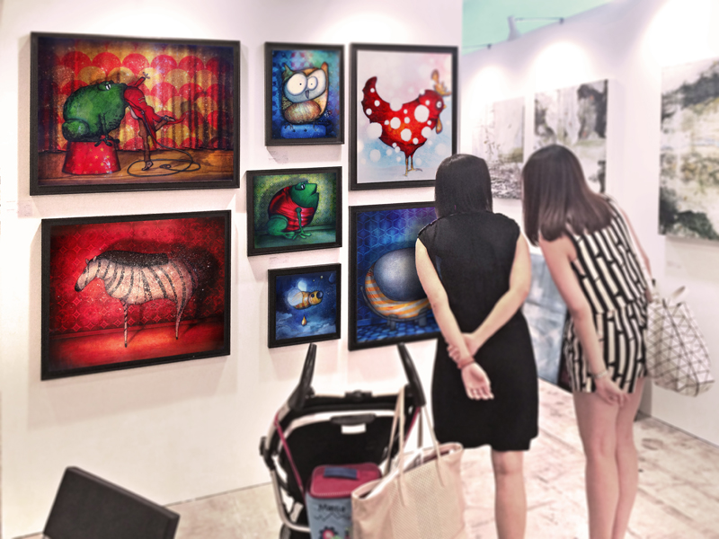 Exposition collective Foire Affordable Art Fair – Singapour – Asie du 12 au 15 Novembre 2015