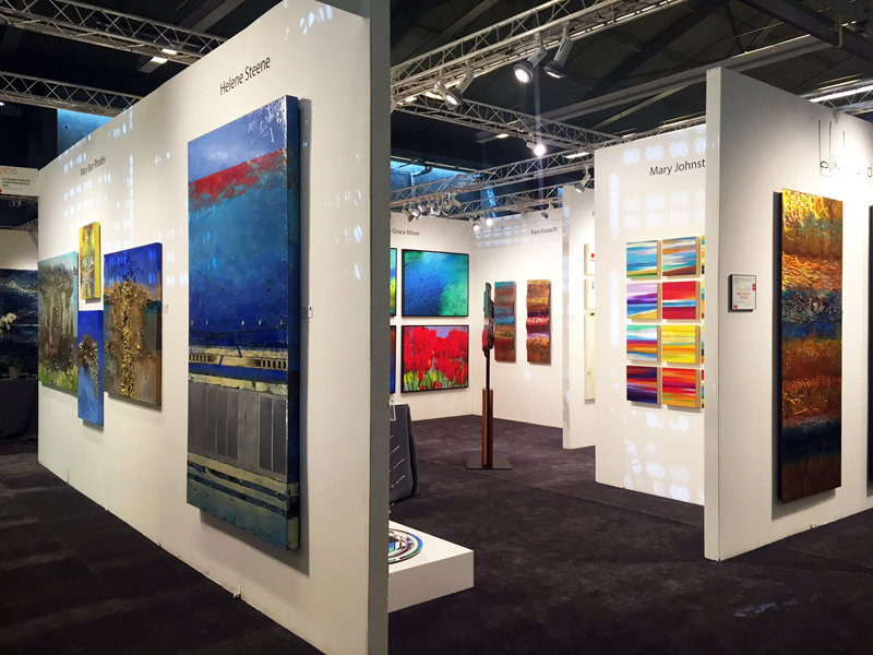 Exposition collective Salon ArtExpo New-York – USA du 14 au 17 Avril 2016