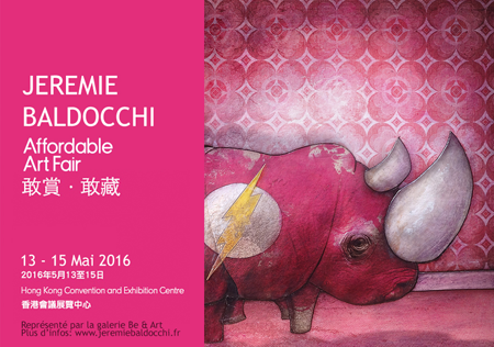Exposition collective: Foire Affordable Art Fair – Hong Kong – Chine du 13 au 15 Mai 2016