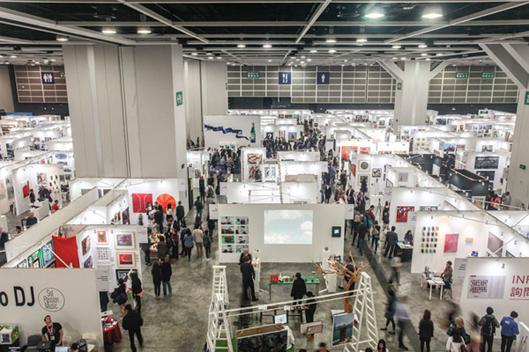 Exposition collective Foire Affordable Art Fair – Hong Kong – Chine du 13 au 15 Mai 2016