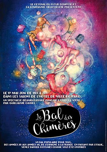 Exposition personnelle: Mairie de Paris (Exposition et Affiche) le 17 Mai 2016