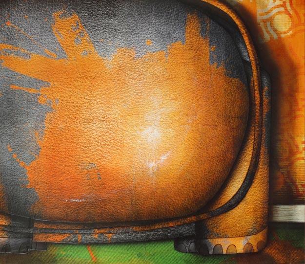 Peinture contemporaine: Elephant peint