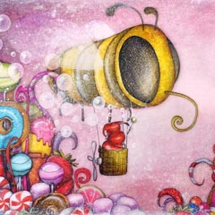 Peinture: La Reine Glucose