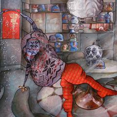 Peinture:Ma vie est une boule de neige