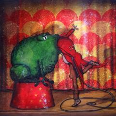 Peinture:Le cirque