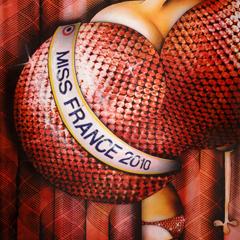 Peinture: Miss France 2010