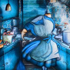 Peinture: Les stars sont des gens ordinaires: Alice