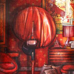 Peinture: Sabine, 18h25