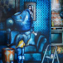 Peinture:Les stars sont des gens ordinaires: Jeanne d'Arc