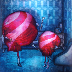 Peinture:Les Majorettes