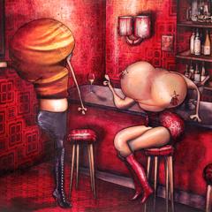Peinture: Suzie et Monica 22h32