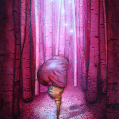 Peinture:Forêt