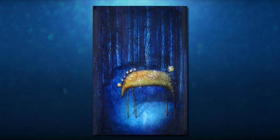 Tableau: Cheval de nuit