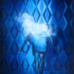 Peinture:La tête dans les nuages