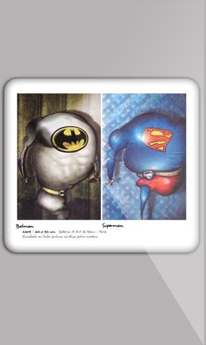 Book artistique du peintre Jeremie Baldocchi en Anglais au format PDF