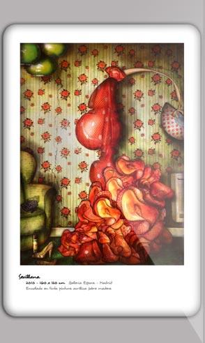Book artistique du peintre Jeremie Baldocchi en Espagnol au format PDF