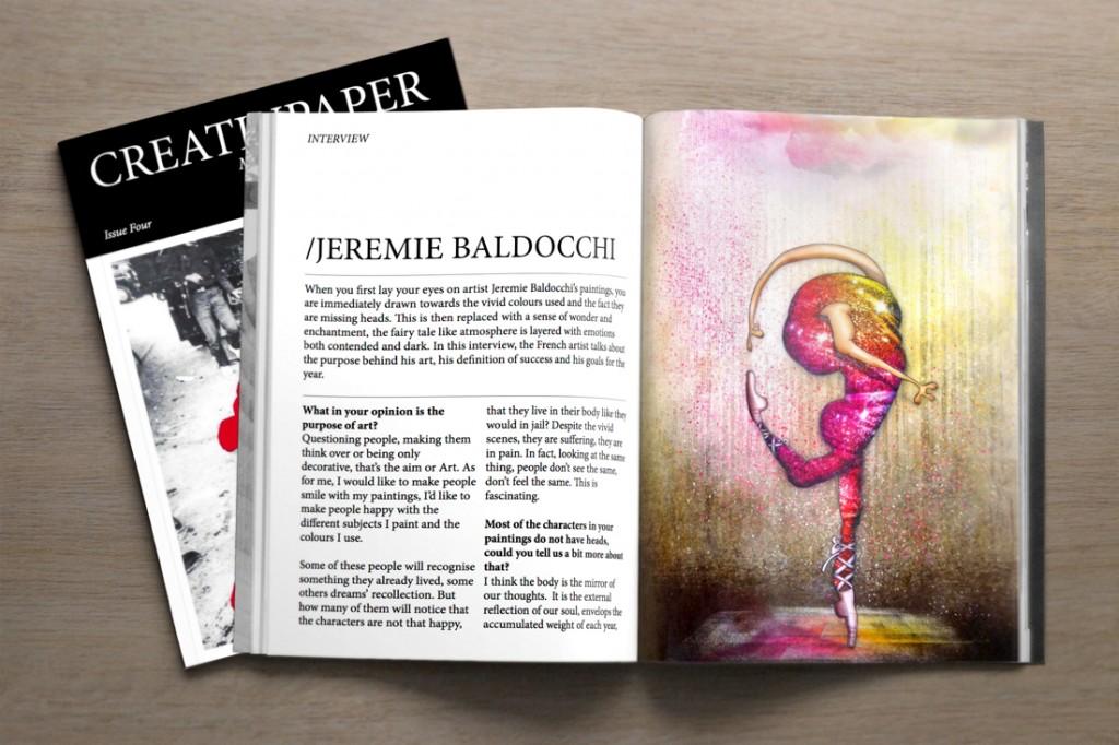 CreativPaper Magazine d'Art contemporain